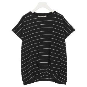 売れ筋タイムセール Tシャツ ブラウス トップス チュニック 体型カバー レディース ボーダー カットソー C2748送料無料メ便対応|神戸レタスKOBELETTUCE