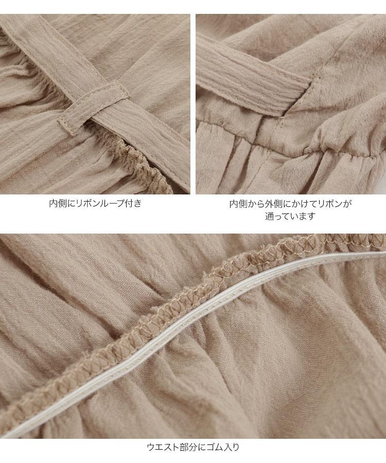 ナチュラル 2wayガーゼ素材カシュクールガウンワンピース レディース 羽織り ウエストリボン 夏 ゆったり E2124
