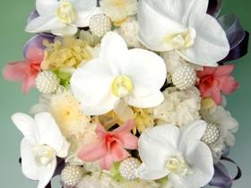 枯れな いお花プリザーブドフラワーのお供え花