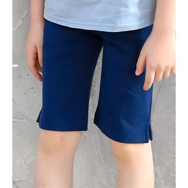ストレッチパンツ 韓国子供服 Bee カジュアル キッズ 女の子 男の子 ハーフ ショート ボトムス スキニー 春 夏 秋 冬 90 100 110 120 130 140 150 RELAX|kodomofuku-bee|24