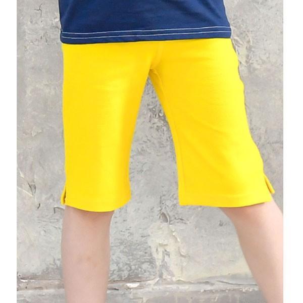 ストレッチパンツ 韓国子供服 Bee カジュアル キッズ 女の子 男の子 ハーフ ショート ボトムス スキニー 春 夏 秋 冬 90 100 110 120 130 140 150 RELAX|kodomofuku-bee|27