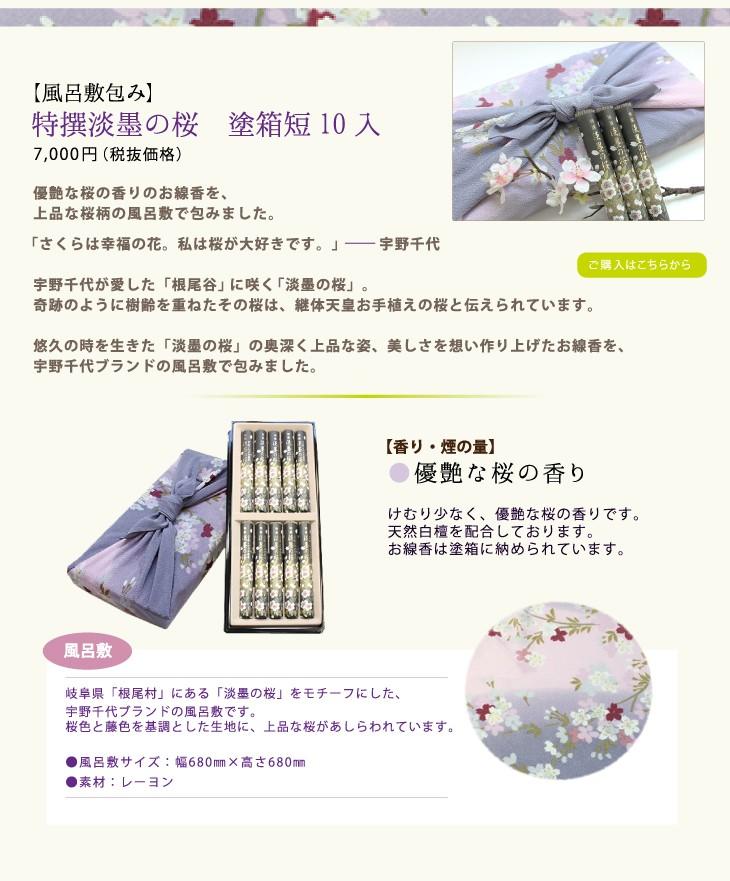 風呂敷包み 特撰淡墨の桜