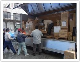 被災地支援の写真