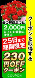 230円クーポン