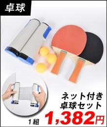 ネット付き卓球