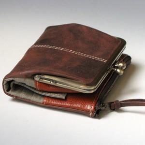 アインソフ ガマ口財布