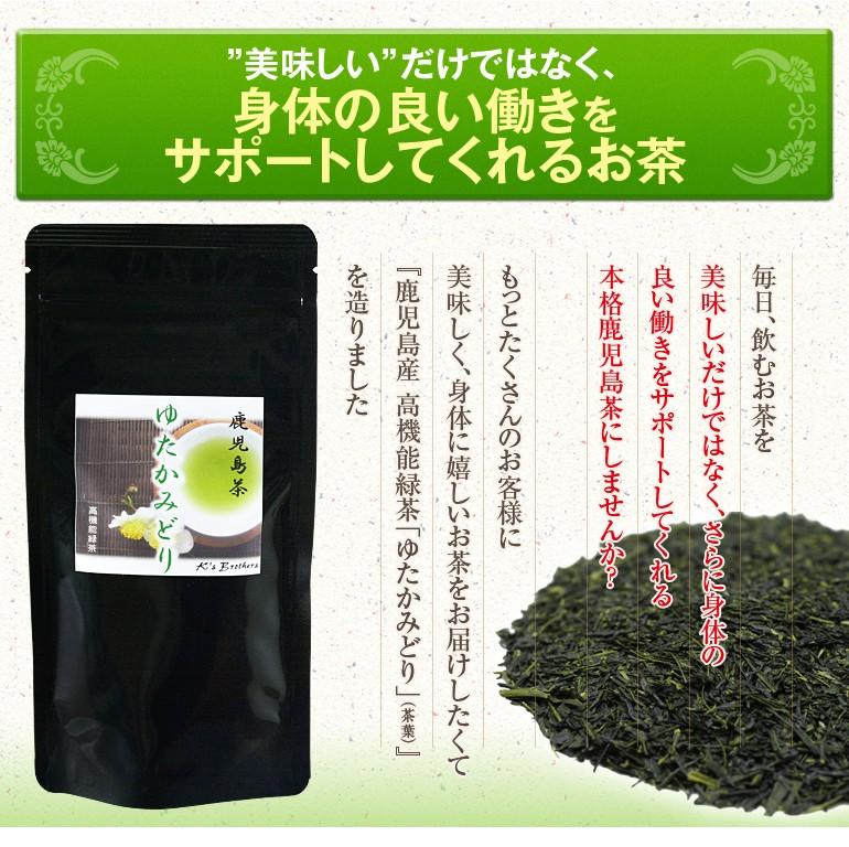 """""""美味しい""""だけでなく、身体の良い働きをサポートしてくれるお茶 本格鹿児島茶にしませんか? ワンコイン"""