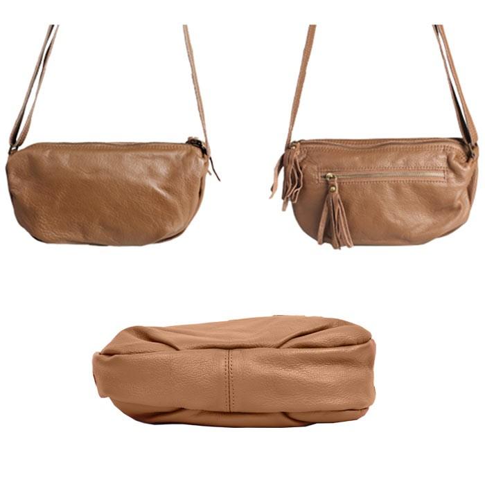 本革 斜めがけバッグ マザーズバッグ