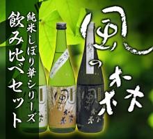 《奈良の地酒》風の森 飲み比べセット 油長酒造