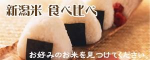 新潟米 食べ比べ