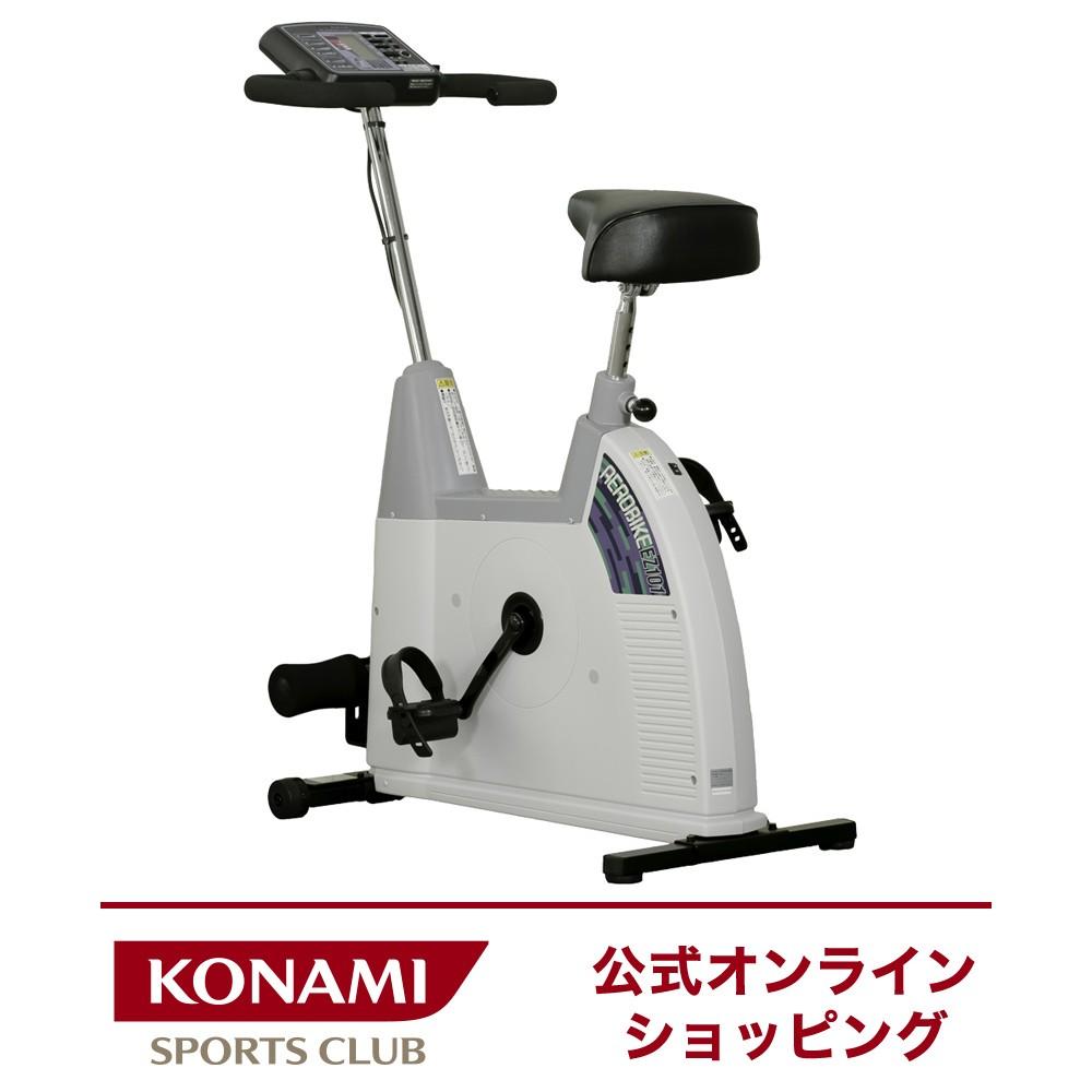 家電 健康 家電 フィットネスバイク コナミスポーツクラブ エアロバイク EZ101 腹筋バー付