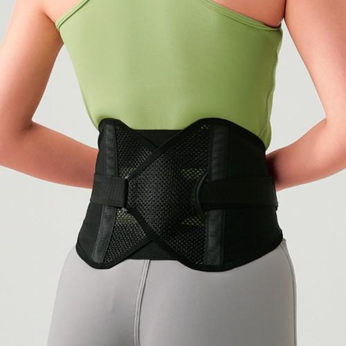 ダイエット、健康 矯正用品、補助ベルト 腰痛ベルト、コルセット コナミスポーツクラブ 腰椎固定ベルト パワフルギア ワイドタイプ