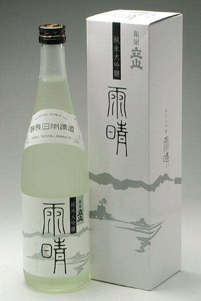 立山酒造 銀嶺立山 純米大吟醸 雨晴 720ml 税抜 2,560円