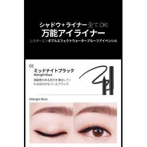 メール便 送料無料 シスターエンダブルエフェクトウォータープルーフアイペンシル(Double Effect Water Proof Eye Pencil) キラキラ SISTER ANN / シスターアン|koreatrade|22