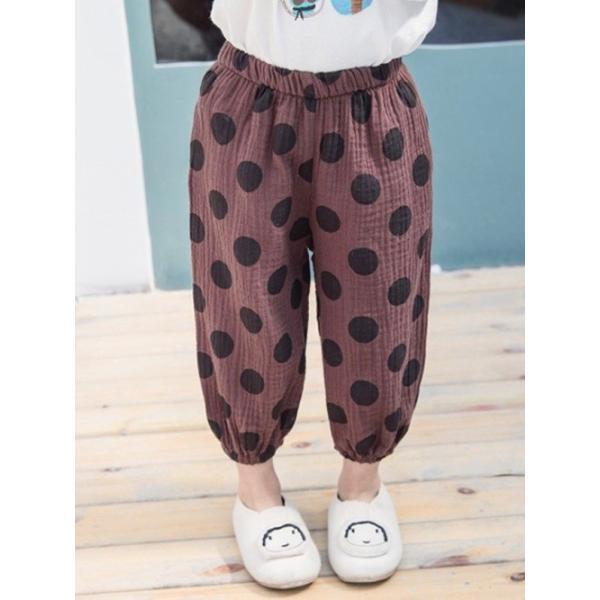 子供服 おしゃれ 韓国 安い 男の子 女の子 ドット柄 パンツ|koruha-store|21