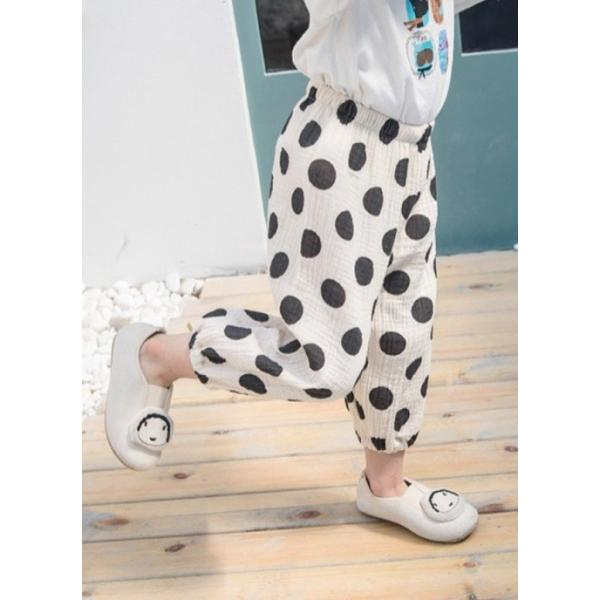 子供服 おしゃれ 韓国 安い 男の子 女の子 ドット柄 パンツ|koruha-store|20