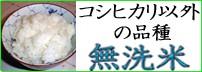 無洗米(コシヒカリ以外の品種)