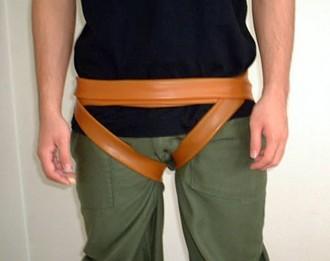 [健康用品] バラコンバンドL(大)4m 骨盤ベルト 腰痛ベルト 腰用ベルト