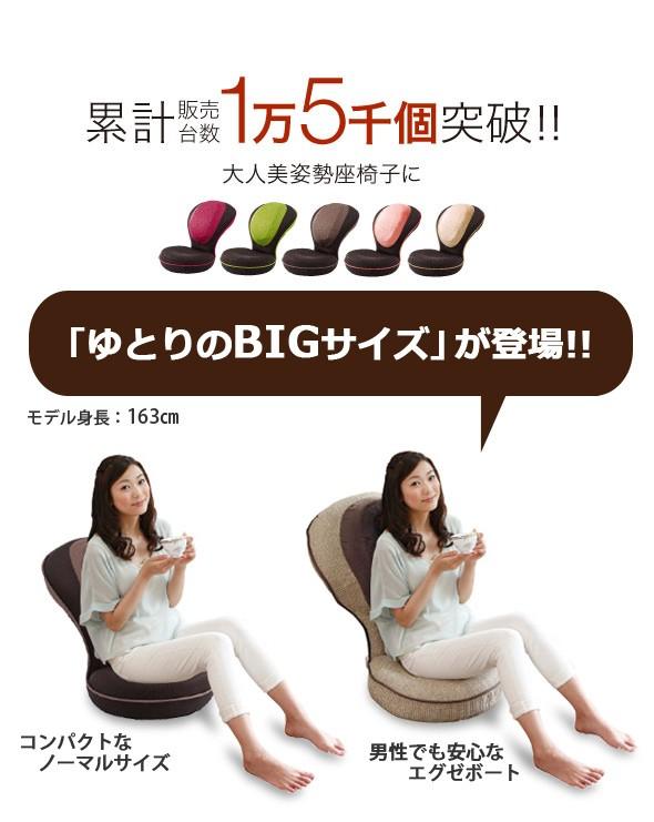 累計販売台数 1万5千個突破!! 美姿勢座椅子に大人のリッチタイプが登場です。ゆとりのBIGサイズ登場。コンパクトなノーマルサイズ、男性でも安心なエグゼボート