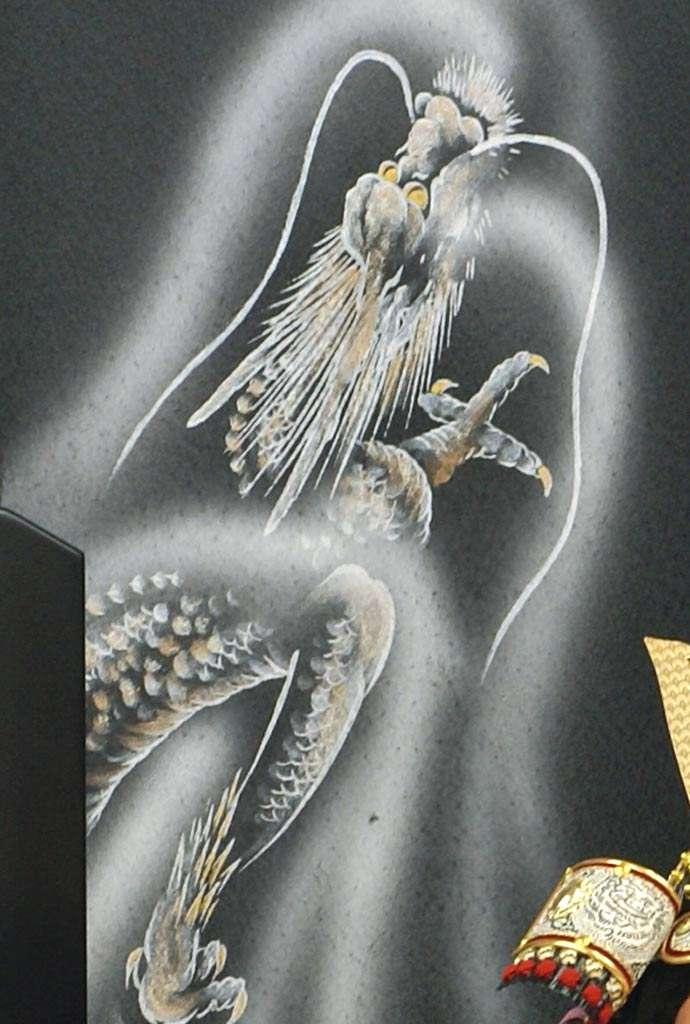 五月人形 五月節句飾り 平飾り 武者人形 子供大将 (鎧姿) 人形工房天祥オリジナル 五月人形・健ちゃんシリーズ 「健 (鎧着・褄取)」 (正絹糸縅仕立)画像10