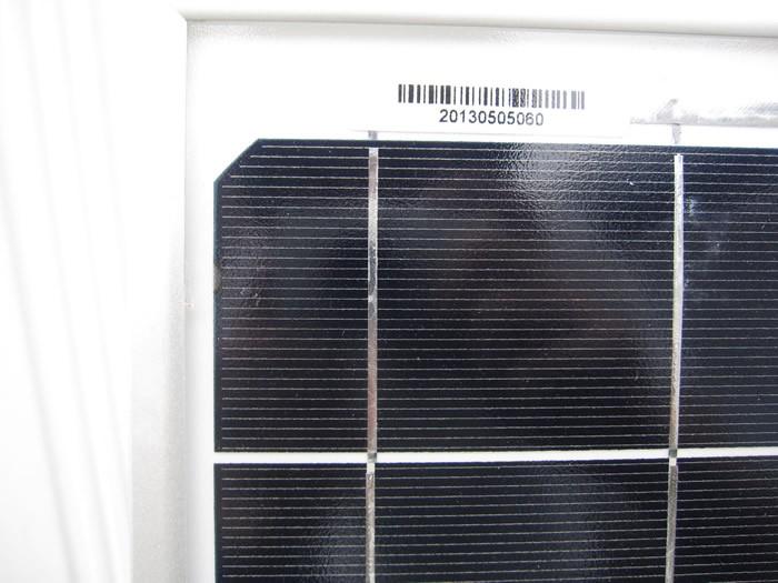 ソーラーパネル商品写真