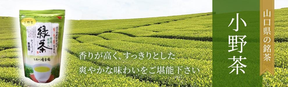 山口県の銘茶 小野茶