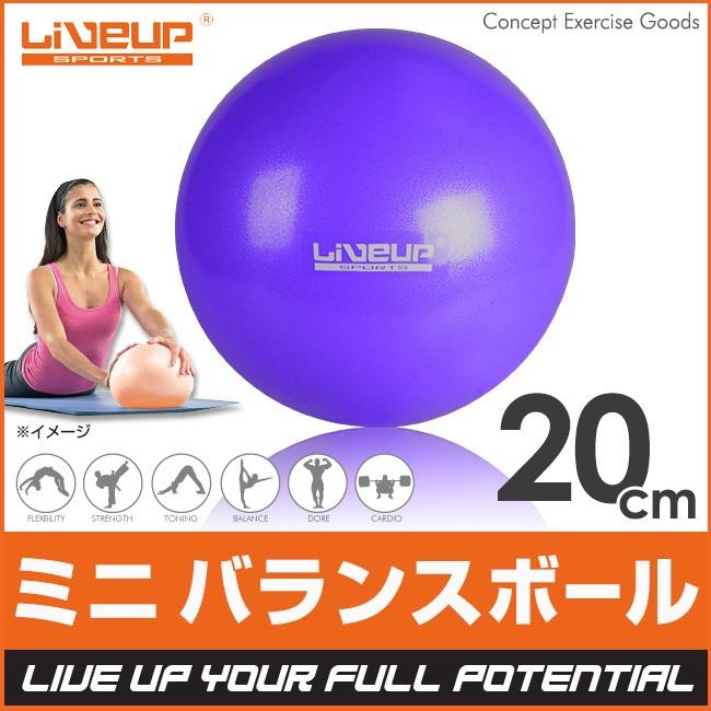 ミニ バランスボール 20cm ヨガボール フィットネスボール ピラティス フィットネス シェイプアップ 器具 エクササイズ yoga ヨガ