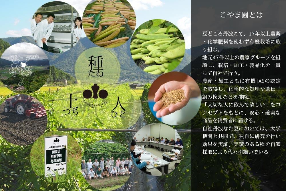 こやま園とは、無農薬有機栽培、自社栽培・自社加工