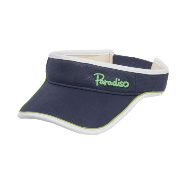 パラディーゾ PARADISO テニスアクセサリー レディース トライアングルバイザ CPCW97 2019FW|kpi|06