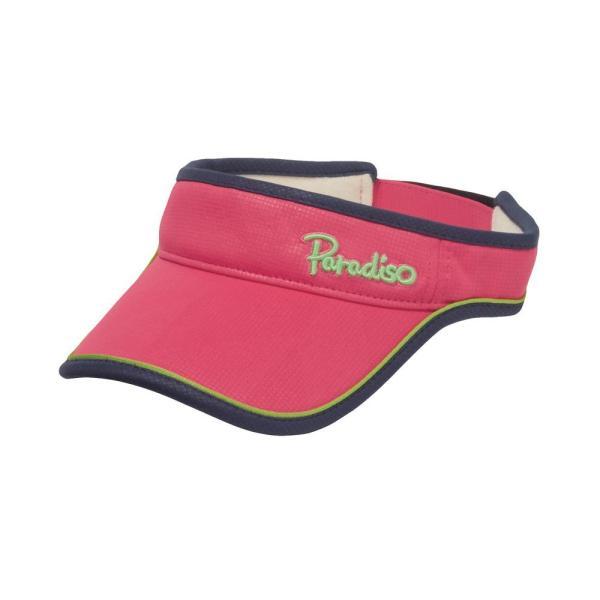 パラディーゾ PARADISO テニスアクセサリー レディース トライアングルバイザ CPCW97 2019FW|kpi|07