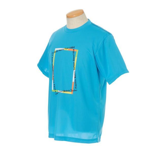 パラディーゾ PARADISO テニスウェア メンズ 半袖シャツ NCM22A 2019SS[ポスト投函便対応] kpi 08