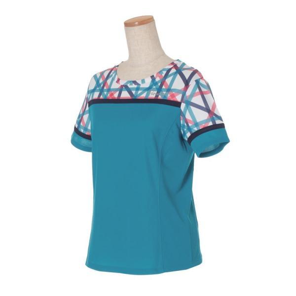 パラディーゾ PARADISO テニスウェア レディース 半袖シャツ QCL01A 2019FW [ポスト投函便対応]|kpi|09