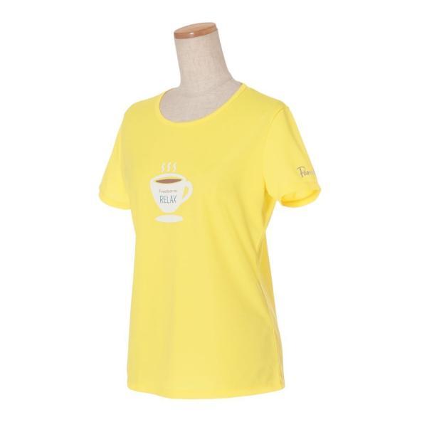 パラディーゾ PARADISO テニスウェア レディース 半袖シャツ QCL21A 2019FW[ポスト投函便対応] kpi 11