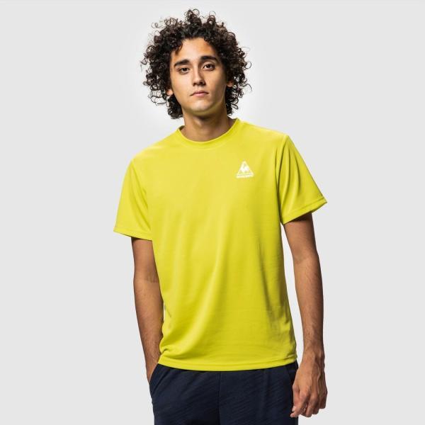 ルコック le coq sportif 健康・ボディケアウェア メンズ 半袖シャツ QMMNJA30ZZ 2019SS[ポスト投函便対応]|kpi|04