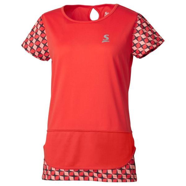 スリクソン SRIXON テニスウェア レディース ゲームシャツ SDP-1965W 2019FW 『即日出荷』 [ポスト投函便対応]|kpi|08
