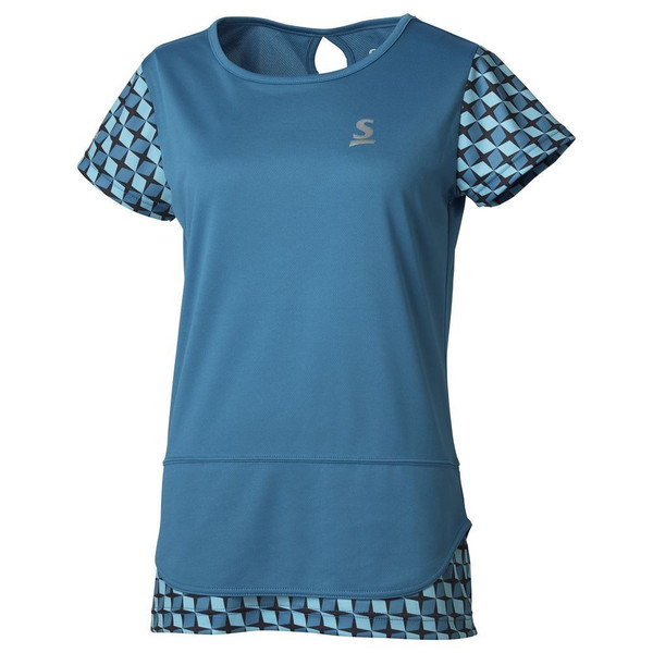 スリクソン SRIXON テニスウェア レディース ゲームシャツ SDP-1965W 2019FW 『即日出荷』 [ポスト投函便対応]|kpi|09