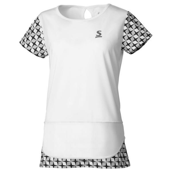 スリクソン SRIXON テニスウェア レディース ゲームシャツ SDP-1965W 2019FW 『即日出荷』 [ポスト投函便対応]|kpi|07