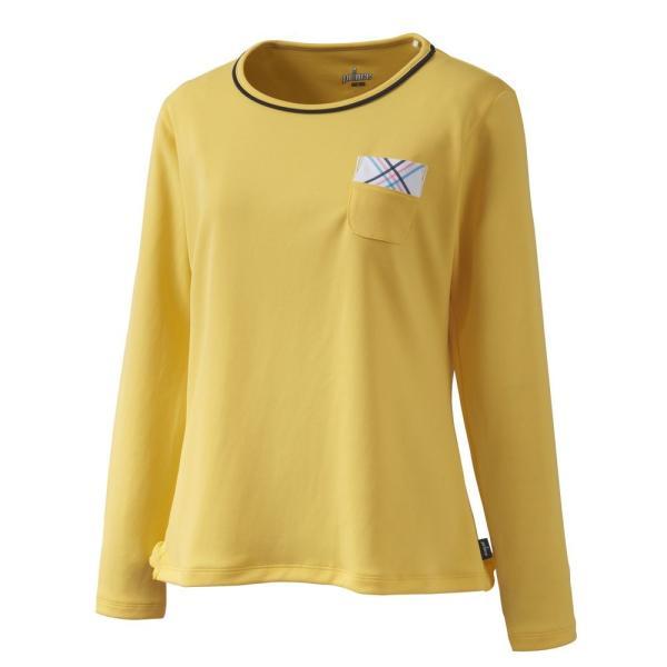 プリンス Prince テニスウェア レディース ロングスリーブシャツ WL9055 2019SS[ポスト投函便対応]|kpi|06
