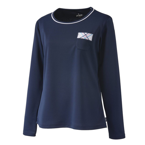 プリンス Prince テニスウェア レディース ロングスリーブシャツ WL9055 2019SS[ポスト投函便対応]|kpi|07
