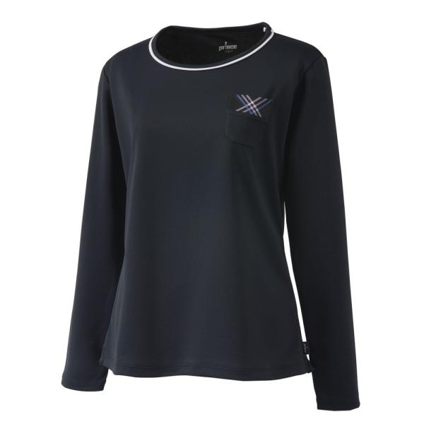 プリンス Prince テニスウェア レディース ロングスリーブシャツ WL9055 2019SS[ポスト投函便対応]|kpi|09