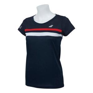 バボラ Babolat テニスウェア レディース ショートスリーブシャツ SHORT SLEEVE SHIRT BTWNJA07 2019SS「ランドリーバッグプレゼント対象」|kpi24|06