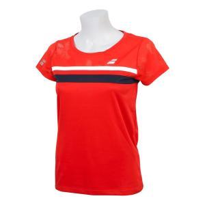バボラ Babolat テニスウェア レディース ショートスリーブシャツ SHORT SLEEVE SHIRT BTWNJA07 2019SS「ランドリーバッグプレゼント対象」|kpi24|07