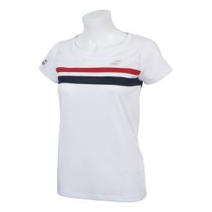 バボラ Babolat テニスウェア レディース ショートスリーブシャツ SHORT SLEEVE SHIRT BTWNJA07 2019SS「ランドリーバッグプレゼント対象」|kpi24|05