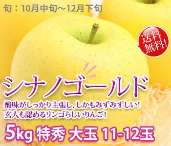 シナノゴールド リンゴ