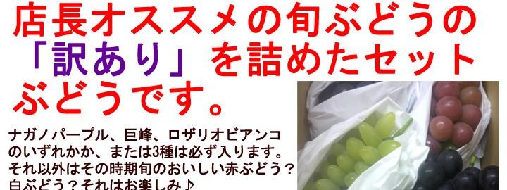 信州・須坂の旬ぶどう 福袋