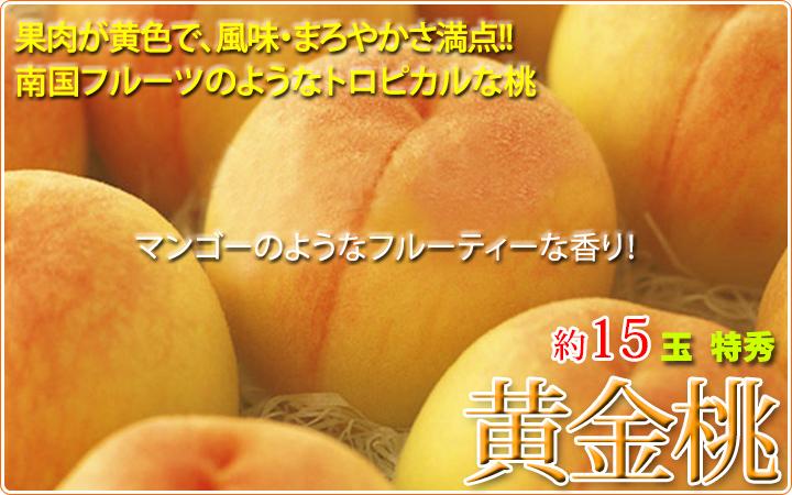 信州の黄金桃!!