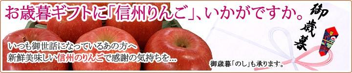 お歳暮ギフトは信州りんご サンふじ!!