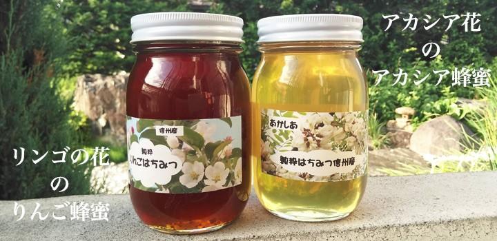 りんごはちみつ!!長野県産