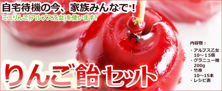 りんご飴セット