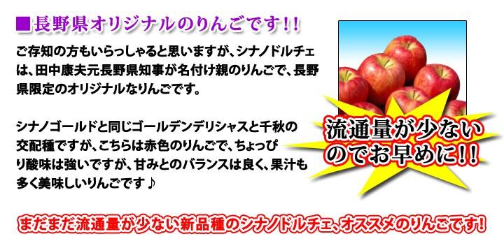 シナノドルチェ 中生りんご